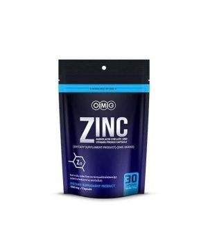 OMG Zinc Amino Acid : ซิงค์ อาหารเสริมลดสิว (30 แคปซูล)