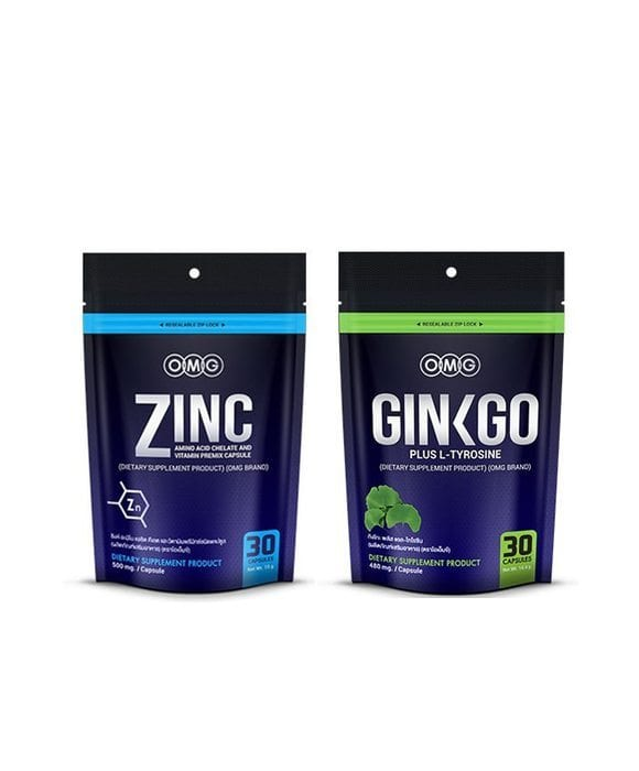 OMG Ginkgo Plus + Zinc Amino Acid