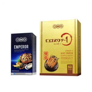 EMPEROR 30 แคปซูล + ถั่งเช่า CORDY-1 (60 แคปซูล)
