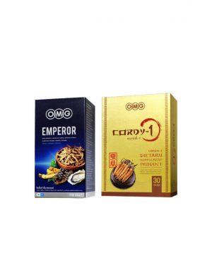 EMPEROR 30 แคปซูล + ถั่งเช่า CORDY-1 (30 แคปซูล)